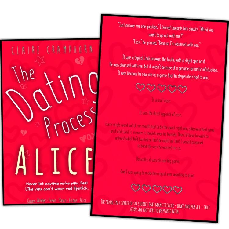The Dating Process : Alice – Claire Cramphorn